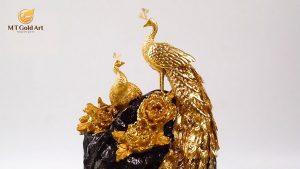 tượng chim công 4
