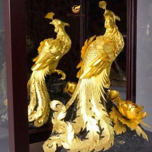 tượng chim công 5