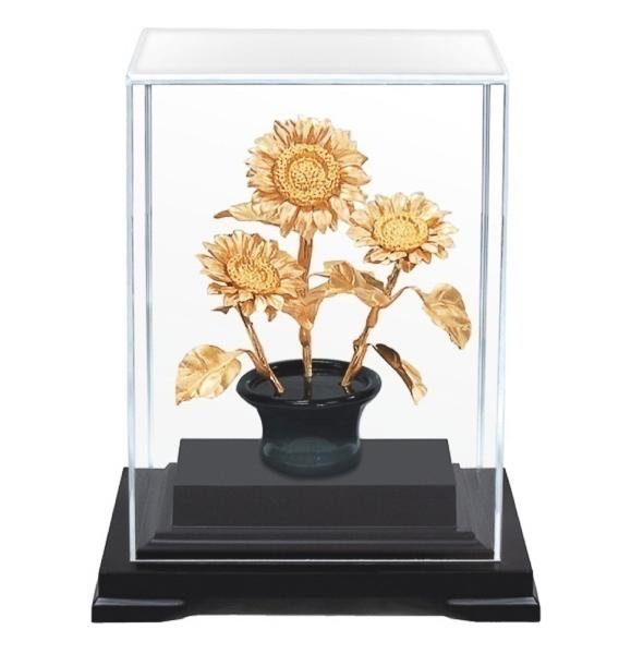 Hoa hướng dương dát vàng