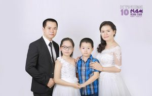 Bộ ảnh gia đình