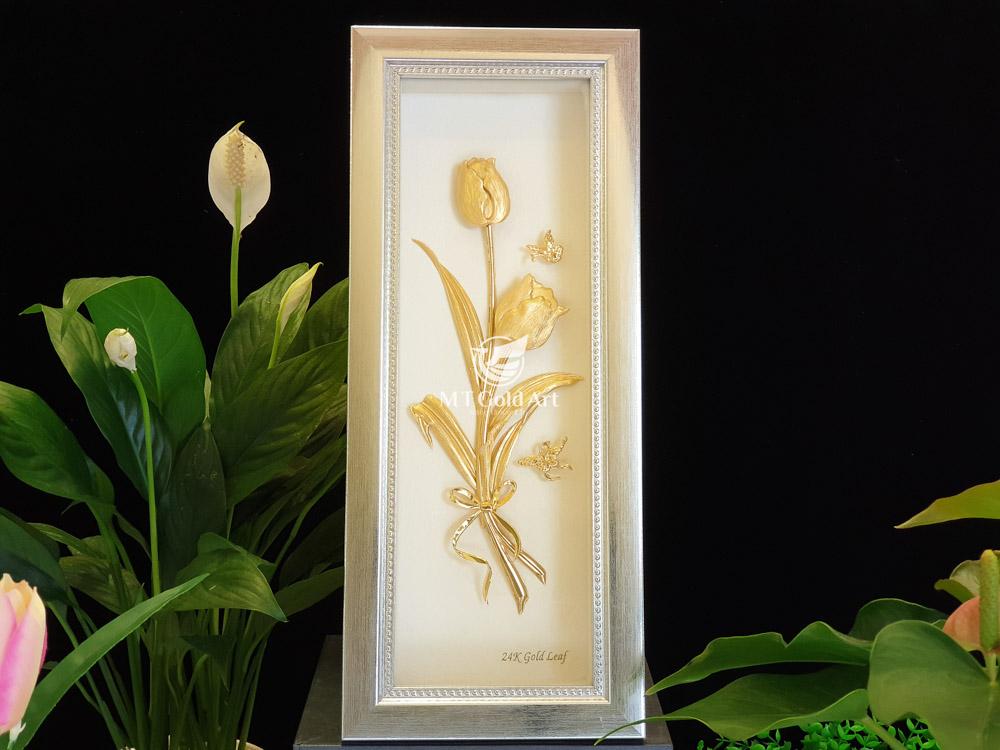 tranh hoa tuy luyp tặng quý bà